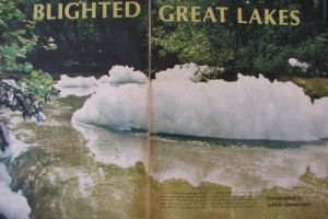 Polluted Great Lakes -1968 LIFE